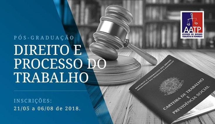 Magistrados do TRT PB estão entre os docentes de Pós-Graduação em Pernambuco