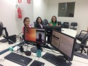 Audiência utilizando videoconferência na 8ª VT João Pessoa.