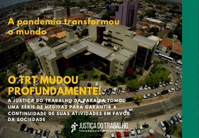 Justiça do Trabalho da Paraíba já pagou quase R$ 80 milhões no período de isolamento