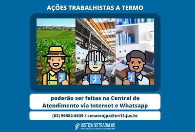 Ação trabalhista também pode ser interposta com preenchimento de formulário no Portal do TRT