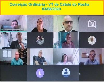 Encontros reuniram juízes e servidores das Varas de Catolé do Rocha, Patos e Campina Grande